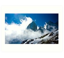 Yu Long Snow Mountain Art Print