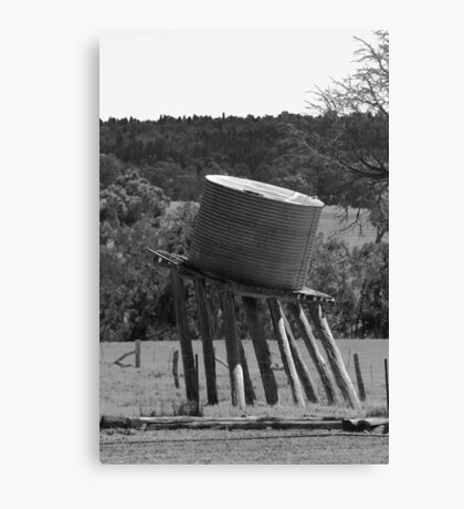 Tanked Canvas Print