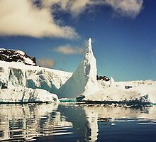 Spire Iceberg Reflection by Clare McClelland