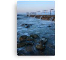 Forster Ocean Bath Canvas Print