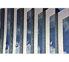 Office and reflections Photographic Print