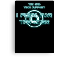 The Grid Tech Support - I Fight for the User Canvas Print