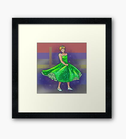 Your Inner Princess Framed Print