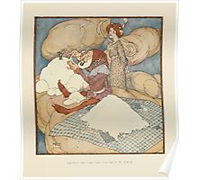 Fairies I Have Met - Rudolph Stawell - Art by Edmund Dulac - 1910 - 0067 - Drop Of Crystal was too Busy to Speak Poster