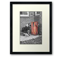 Photographers Fuel Framed Print