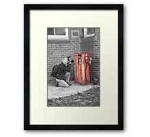 Photographers Fuel Framed Print