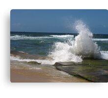 bar beach wave Canvas Print