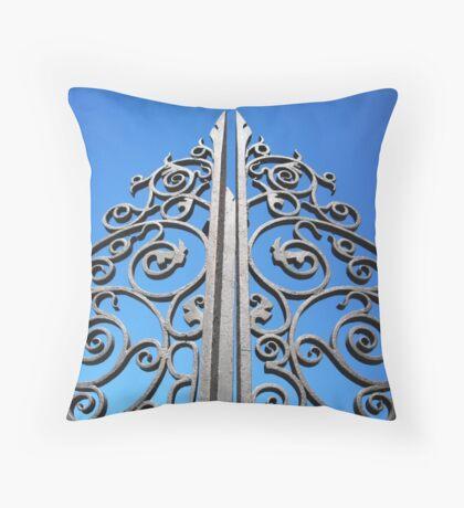 Lace Iron Throw Pillow