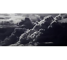 tormented clouds Photographic Print