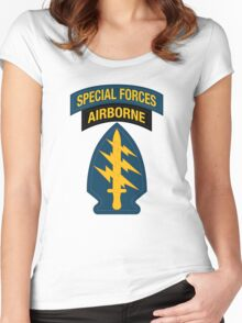 Special Forces Airborne Women's Fitted Scoop T-Shirt