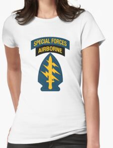 Special Forces Airborne Womens Fitted T-Shirt