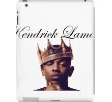 Kendrick Lamar iPad Case/Skin