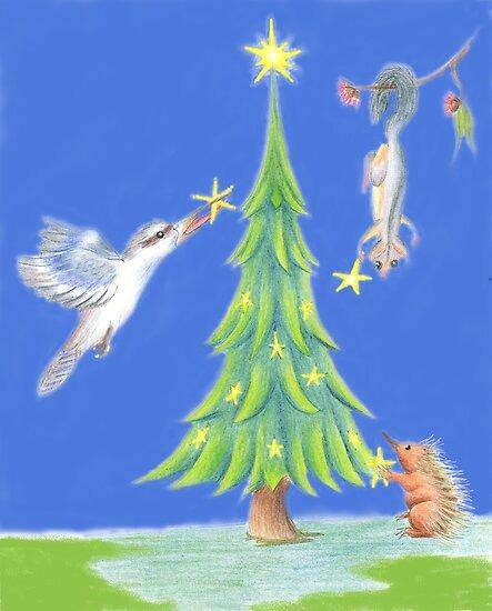 Bush Christmas by Kestrelle