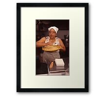 couscous lady mazzara del vallo Framed Print