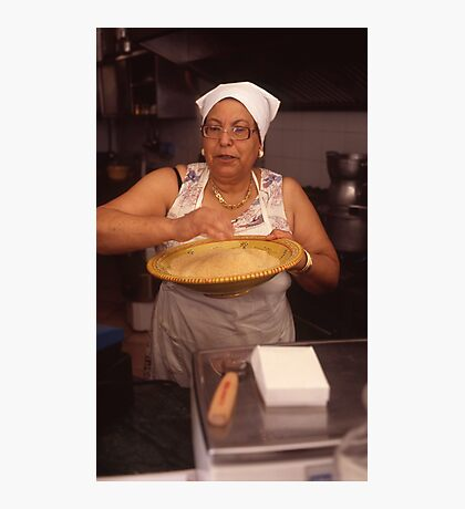 couscous lady mazzara del vallo Photographic Print