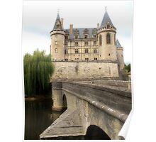 Château de La Rochefoucauld Poster