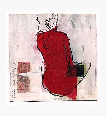 woman seaten Photographic Print