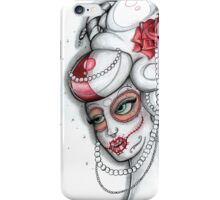 Lady Sugar Horn 'Lady of Wealth and Power' iPhone Case/Skin
