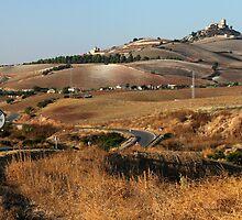 Road to Trujillo - Spanish Extremadura by helenlloyd