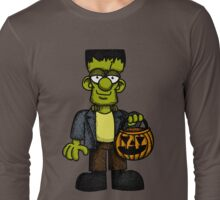Frankenstein Trick or Treat Long Sleeve T-Shirt