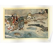 Stories from the Arabian Nights - 1907 - Edmund Dulac - 0121 - Bags Poster