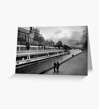 bateaux-mouches Greeting Card