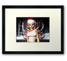 Christmas Fairy Framed Print