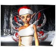 Christmas Fairy Poster