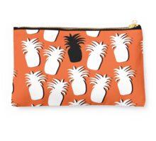White & Black Pineapples Studio Pouch