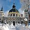 January Avatar ~ Winter or Christmas Scene of A Church or Cathedral