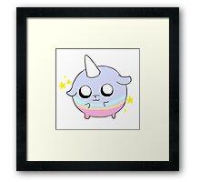 Adventure Time T.V Framed Print