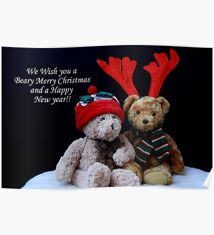 A Beary Merry Christmas! Poster