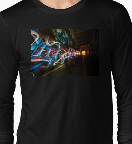 Dark Street Art Long Sleeve T-Shirt