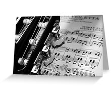 Simply Music Greeting Card