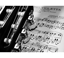 Simply Music Photographic Print