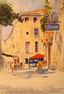 Uzes - France by Beatrice Cloake