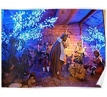 Christmas Crib Poster
