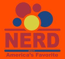 nerd alert black Kids Clothes