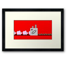 Makin' Bacon Framed Print