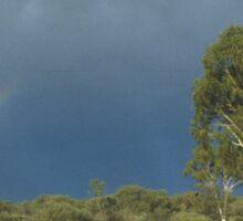an awe-inspiring Australia landscape Sticker