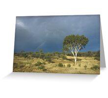 an awe-inspiring Australia landscape Greeting Card