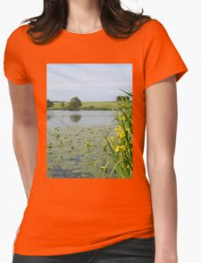 Seeing Yellow Womens Fitted T-Shirt