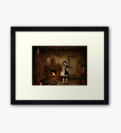 Definitely Naughty Framed Print