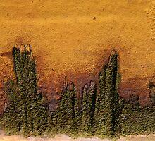 The Island ~ landscape in Metal by Alixzandra