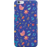 Whimsical Spring Chicky iPhone Case/Skin