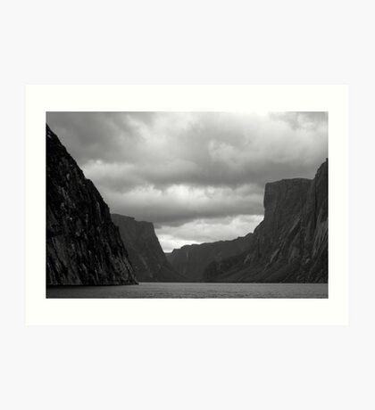 Fiords Art Print
