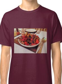 Roast Garden Vegetables with Mustard and Honey Classic T-Shirt