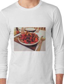 Roast Garden Vegetables with Mustard and Honey Long Sleeve T-Shirt