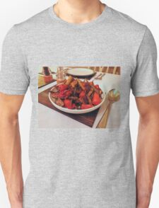 Roast Garden Vegetables with Mustard and Honey Unisex T-Shirt