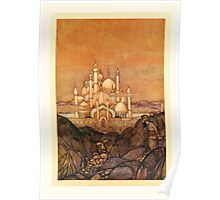 Fairy book Fairy Tales of the Allied Nations - 1917 - Edmund Dulac - 0221 - The Story of Urashima Taro Poster